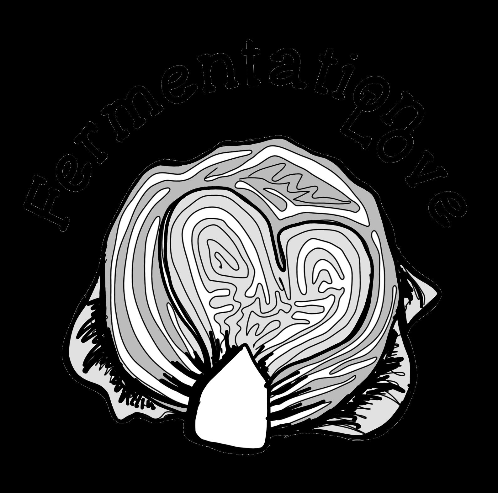 Logo fermentation love